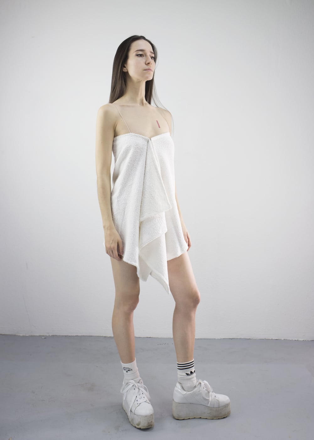 Out of the Shower Dress 1