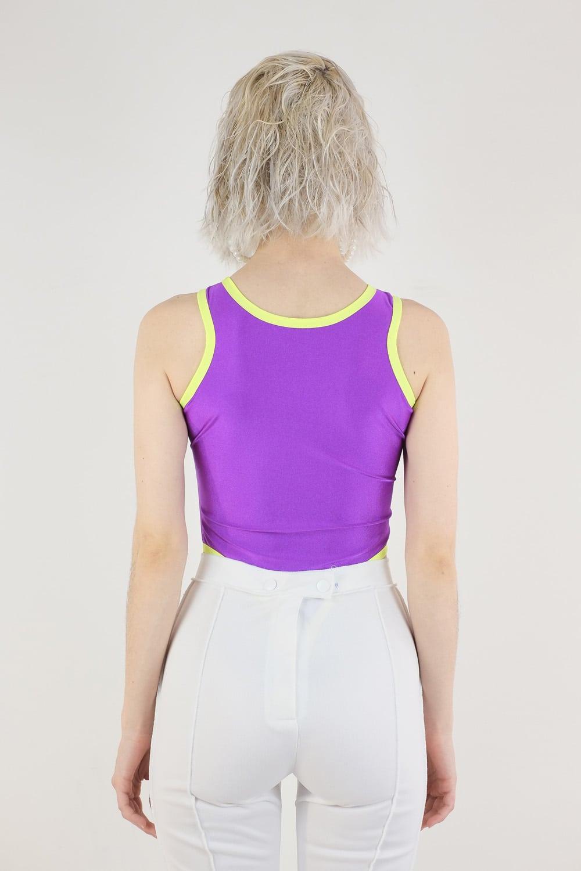 Purple Swimsuit 4