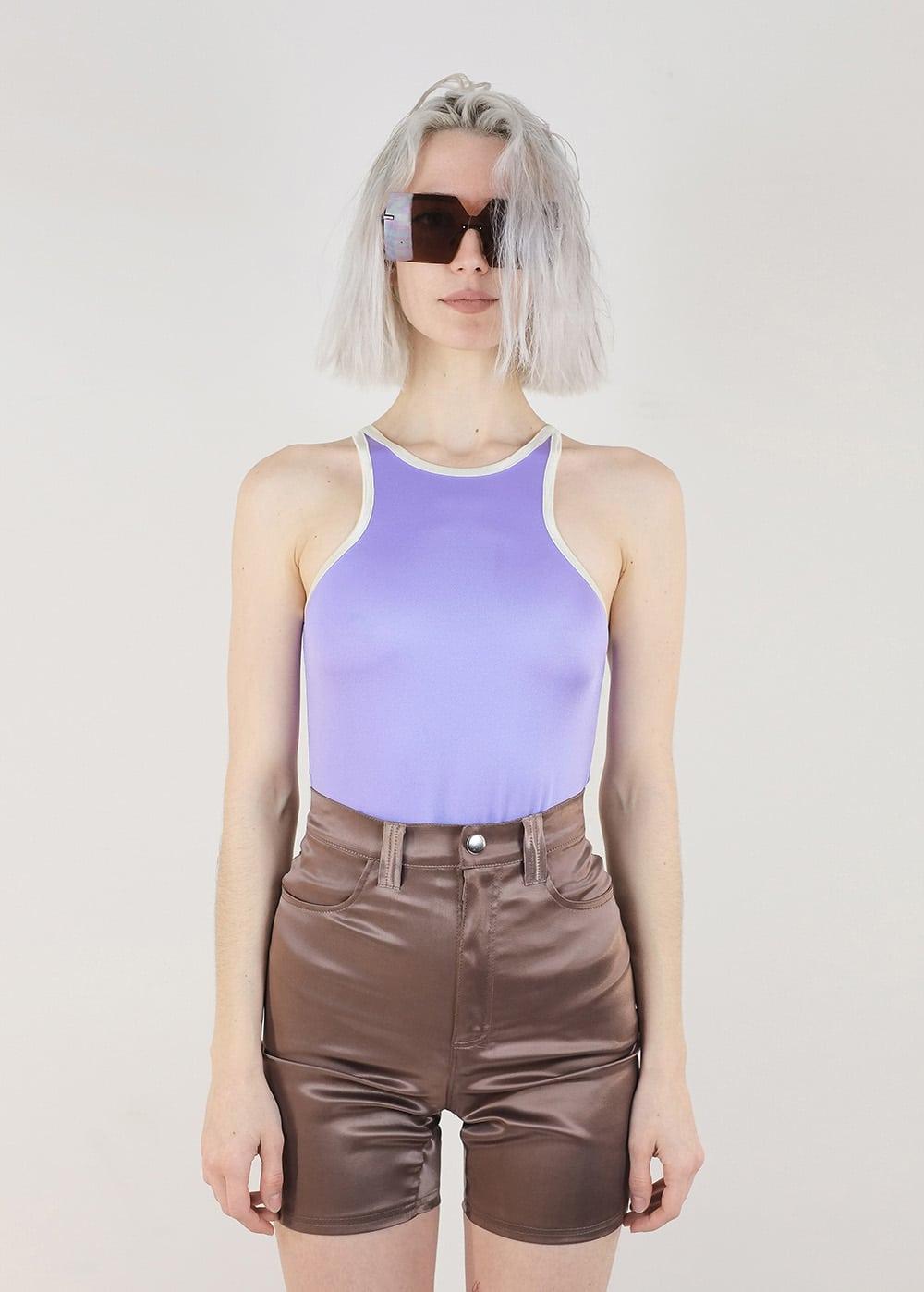 Satin Lycra Shorts 276
