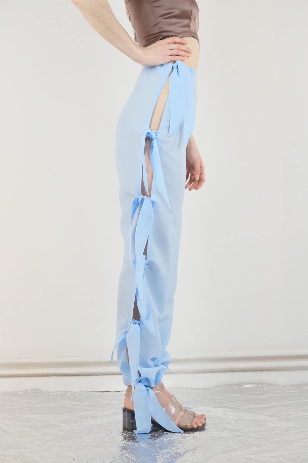 Upcycled Curtain Pants 4