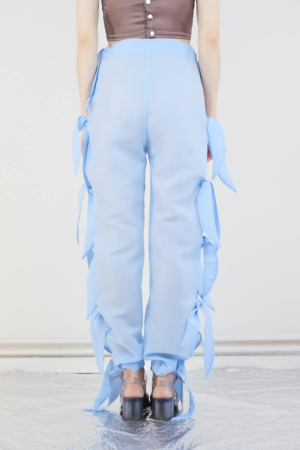 Upcycled Curtain Pants 5