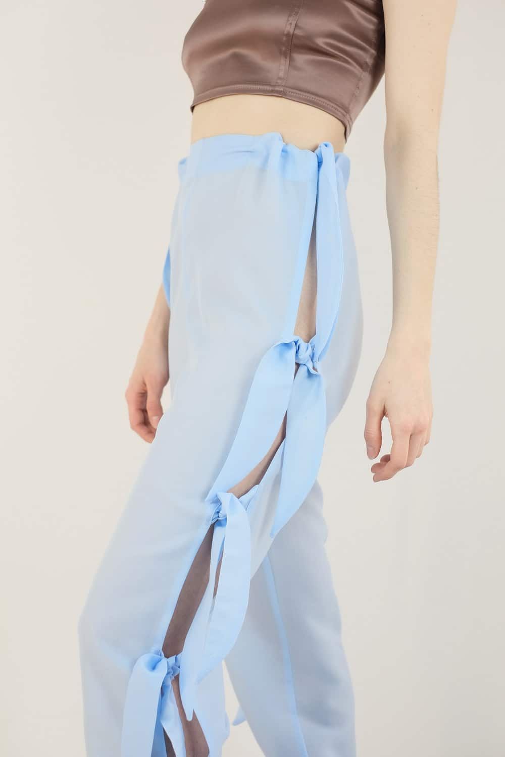 Upcycled Curtain Pants 3