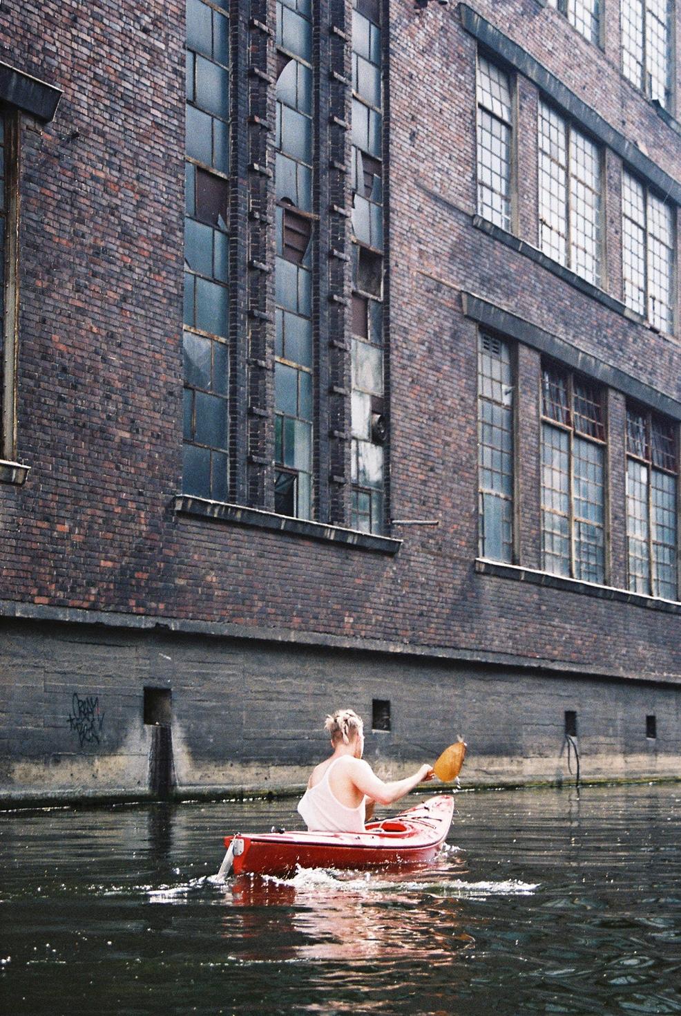 Kayaking on Spree 6