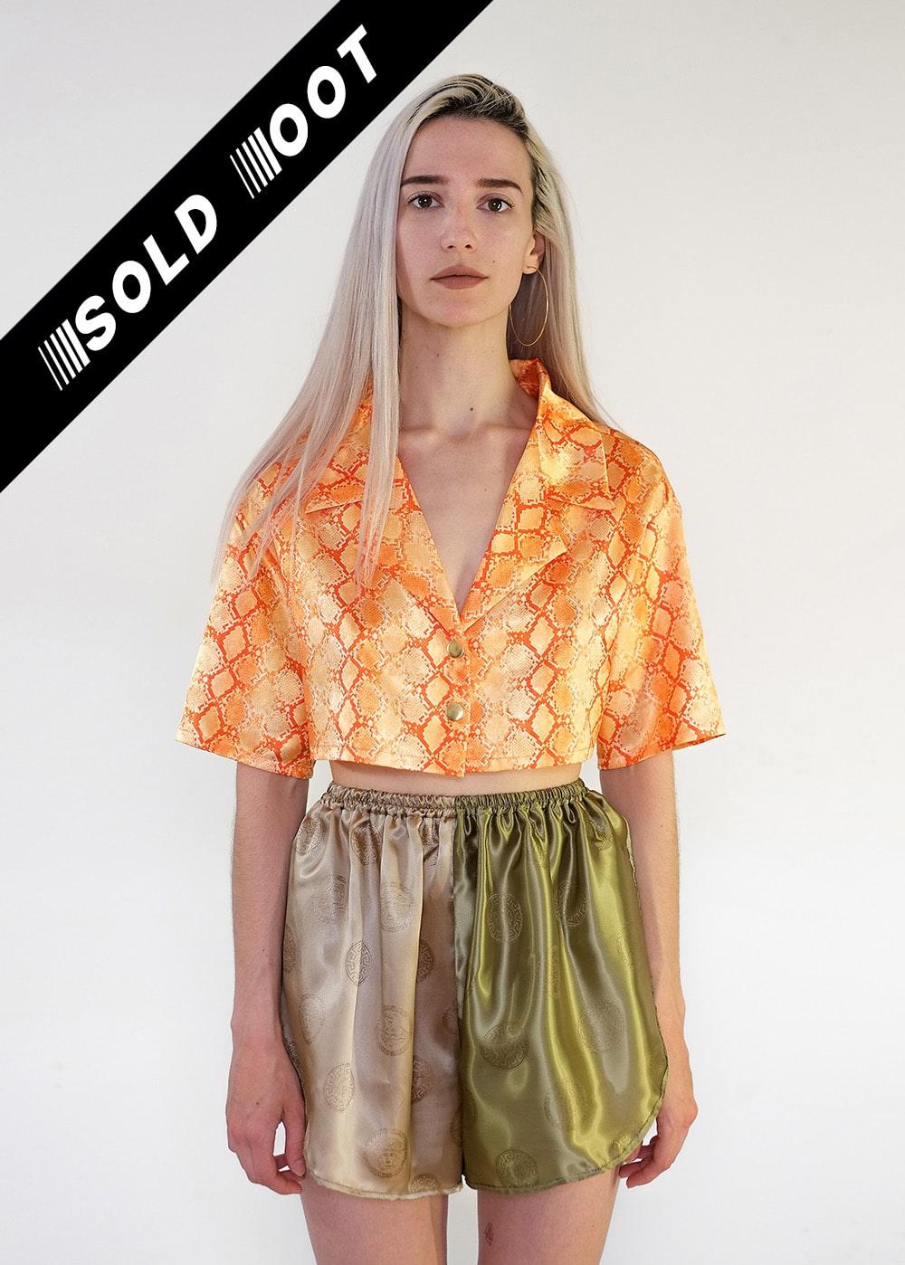 Crop Snake Shirt 394