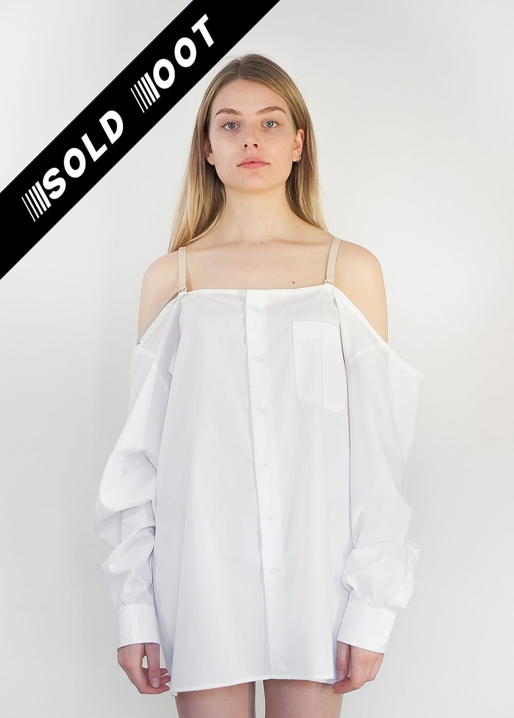 Reworked Off-Shoulder Shirt 350