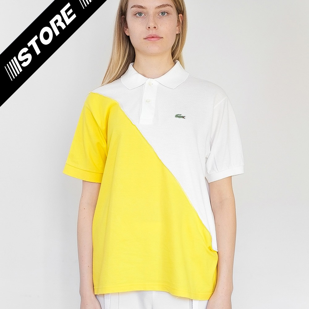Reworked Lacoste Top White 1