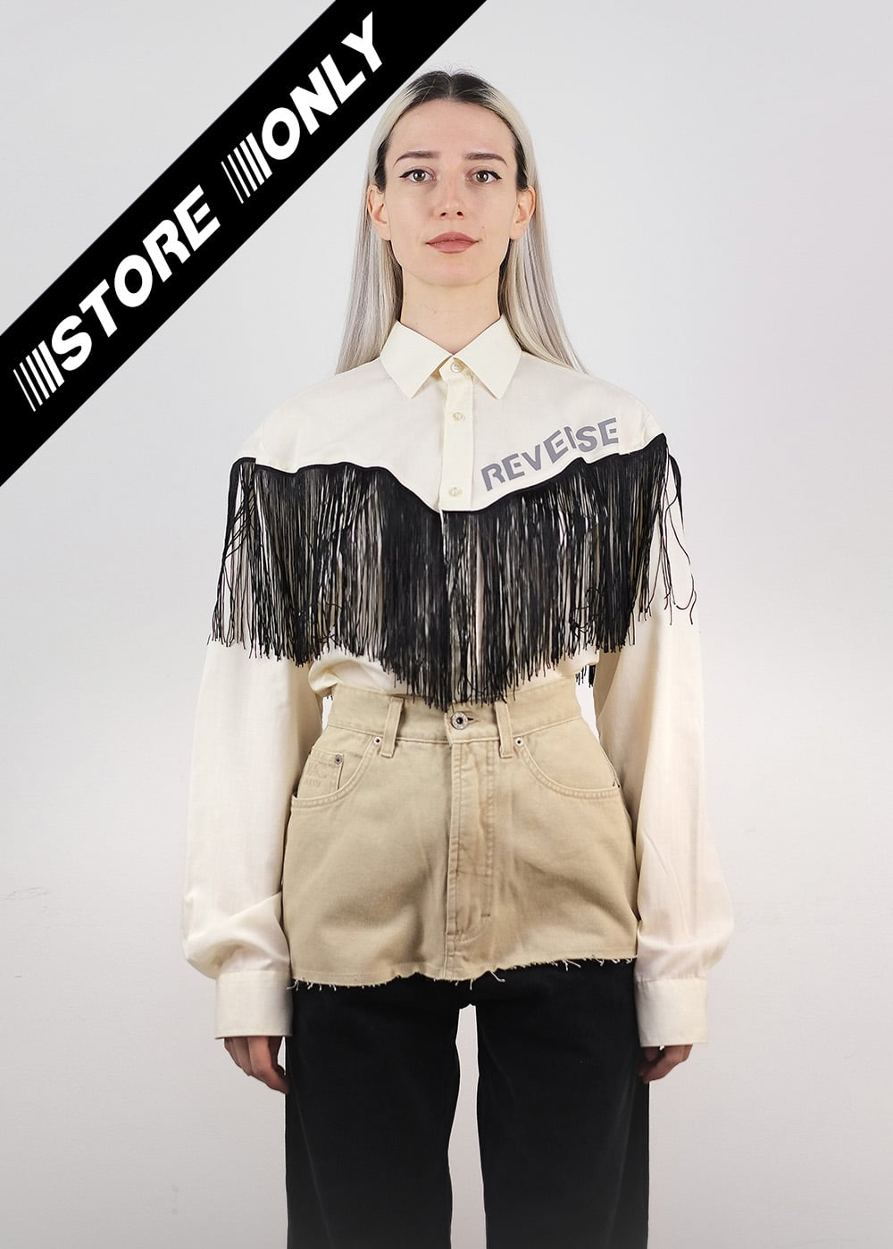 Reverse Cowgirl Reworked Shirt 314