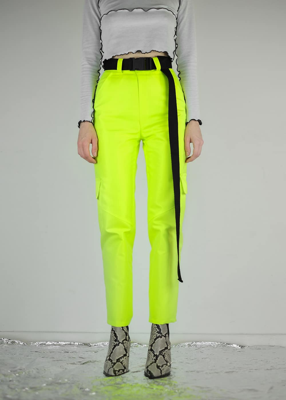 Neon Roadwork Pants 6