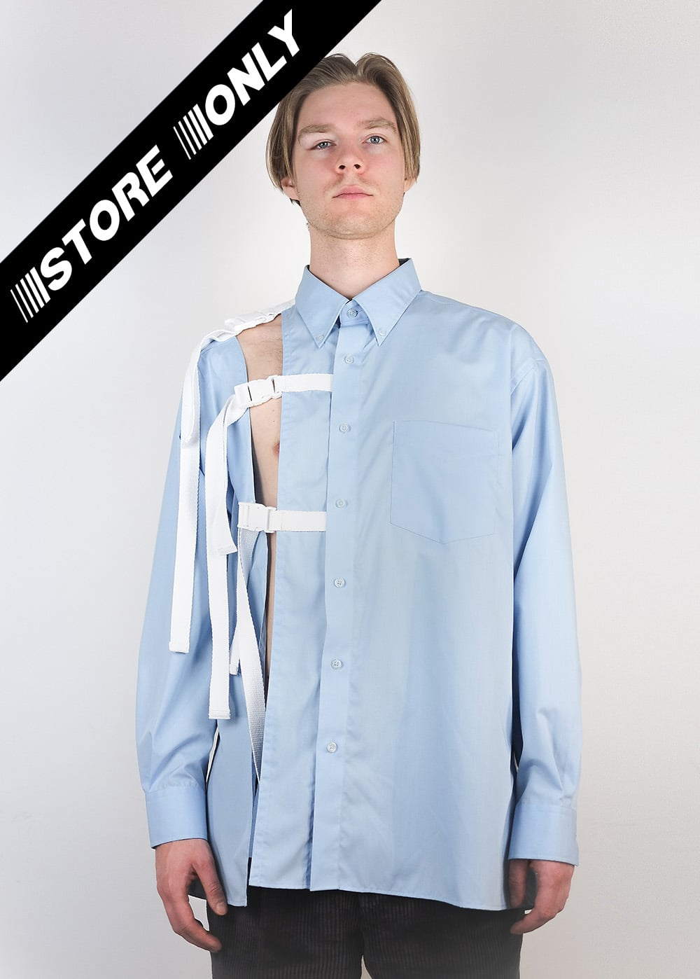 Reworked Strap Buckle Shirt 332
