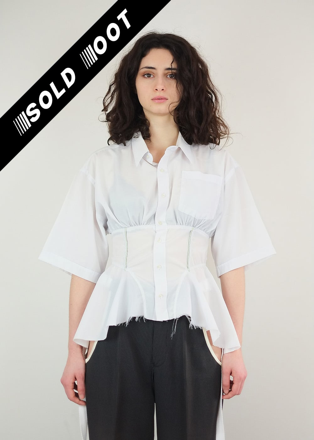 Reworked Corset Shirt 292