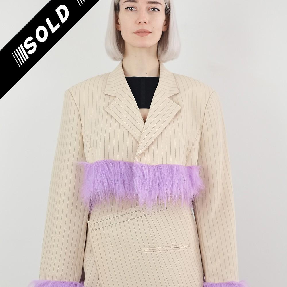 Reworked Faux Fur Jacket 1