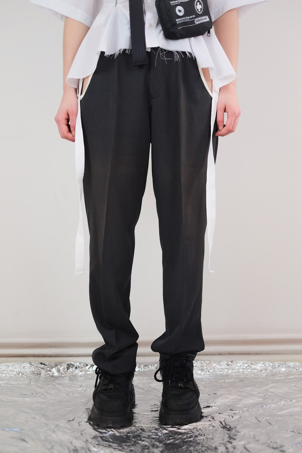 Reworked Cut Out Pants 5