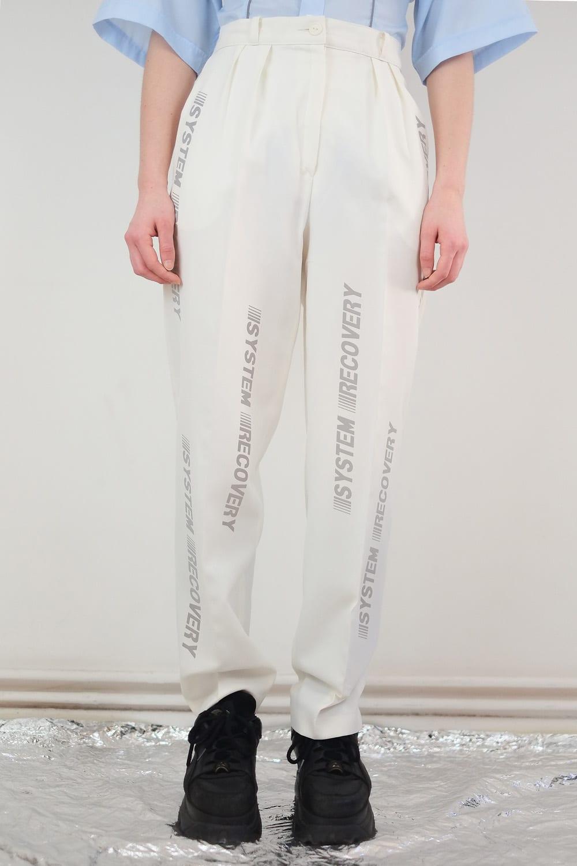 Reflective Monogram W Pants 2