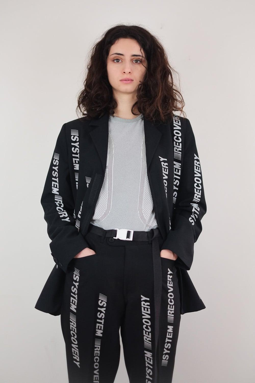 Reflective Monogram Jacket 4