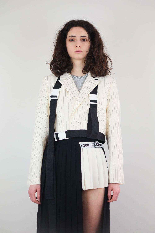 Reworked Diór School Skirt 3