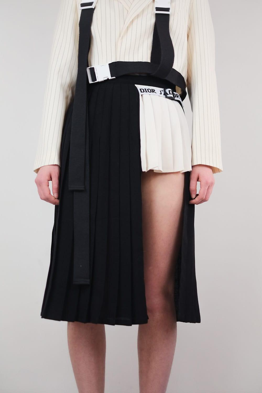 Reworked Diór School Skirt 2