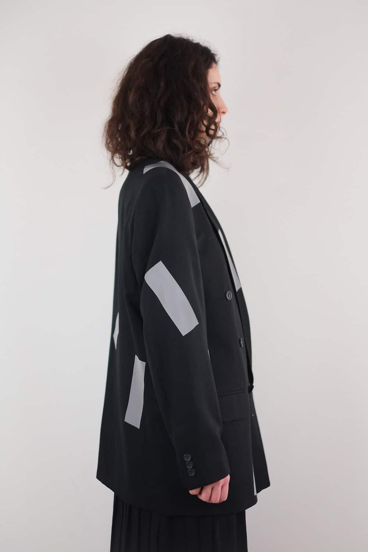 Reworked Reflect Tape Jacket 3