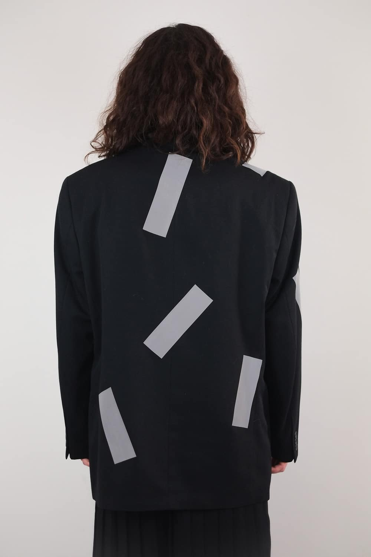 Reworked Reflect Tape Jacket 4