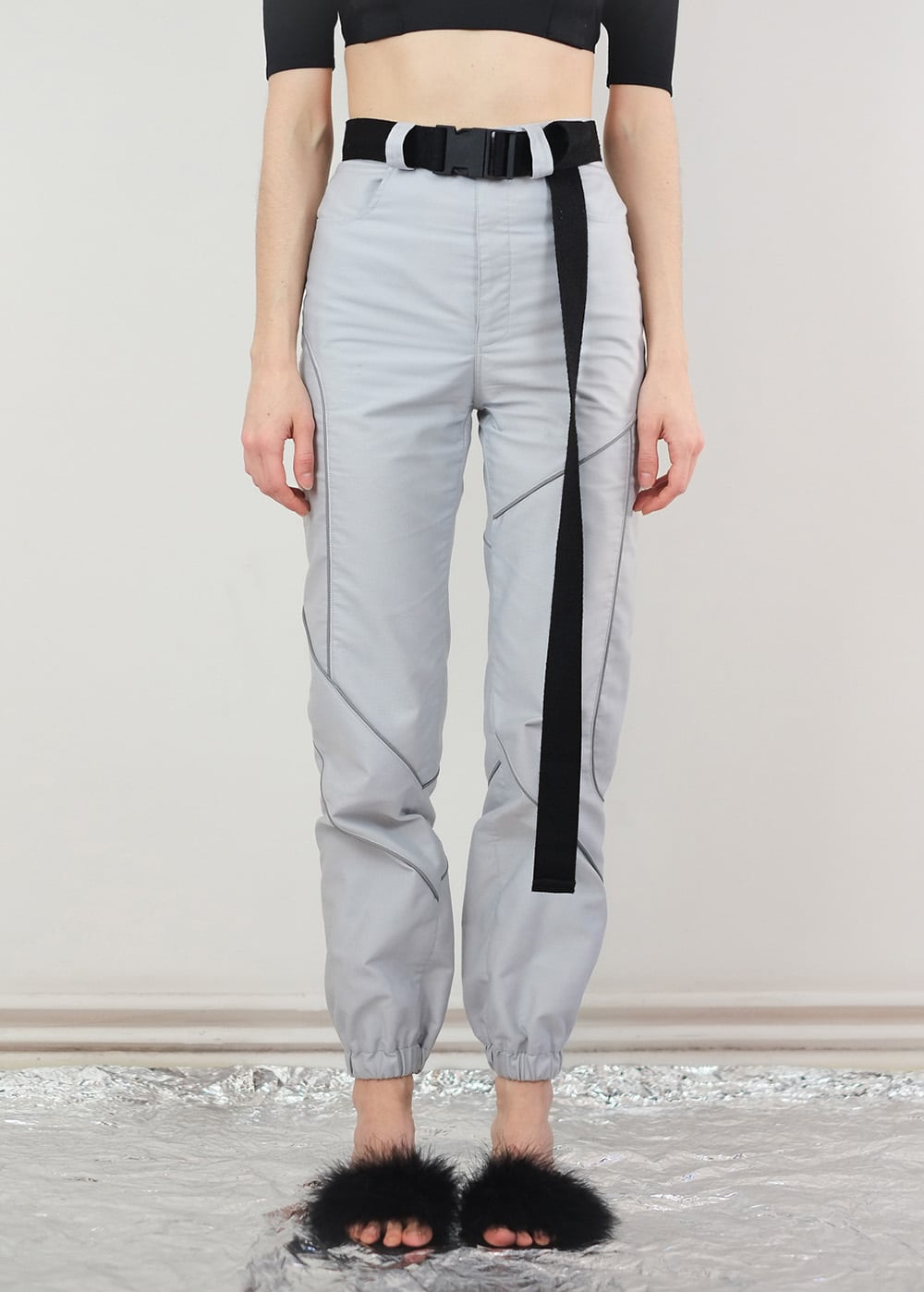 Reflective Piping Pants 279