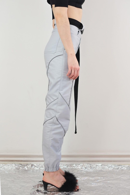 Reflective Piping Pants 2