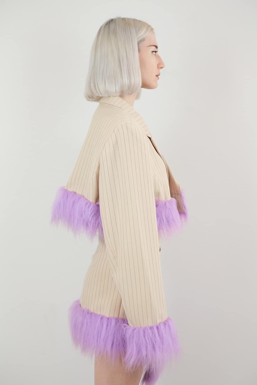 Reworked Faux Fur Jacket 2
