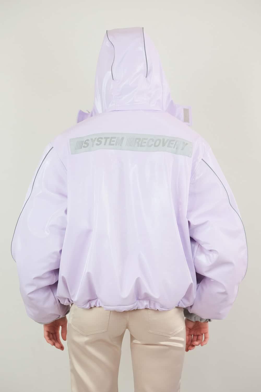 Lilac Vinyl Jacket 4