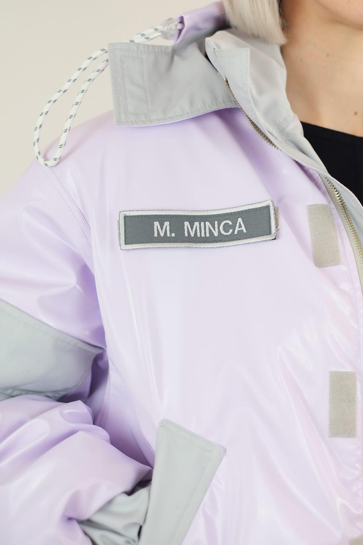 Lilac Vinyl Jacket 5