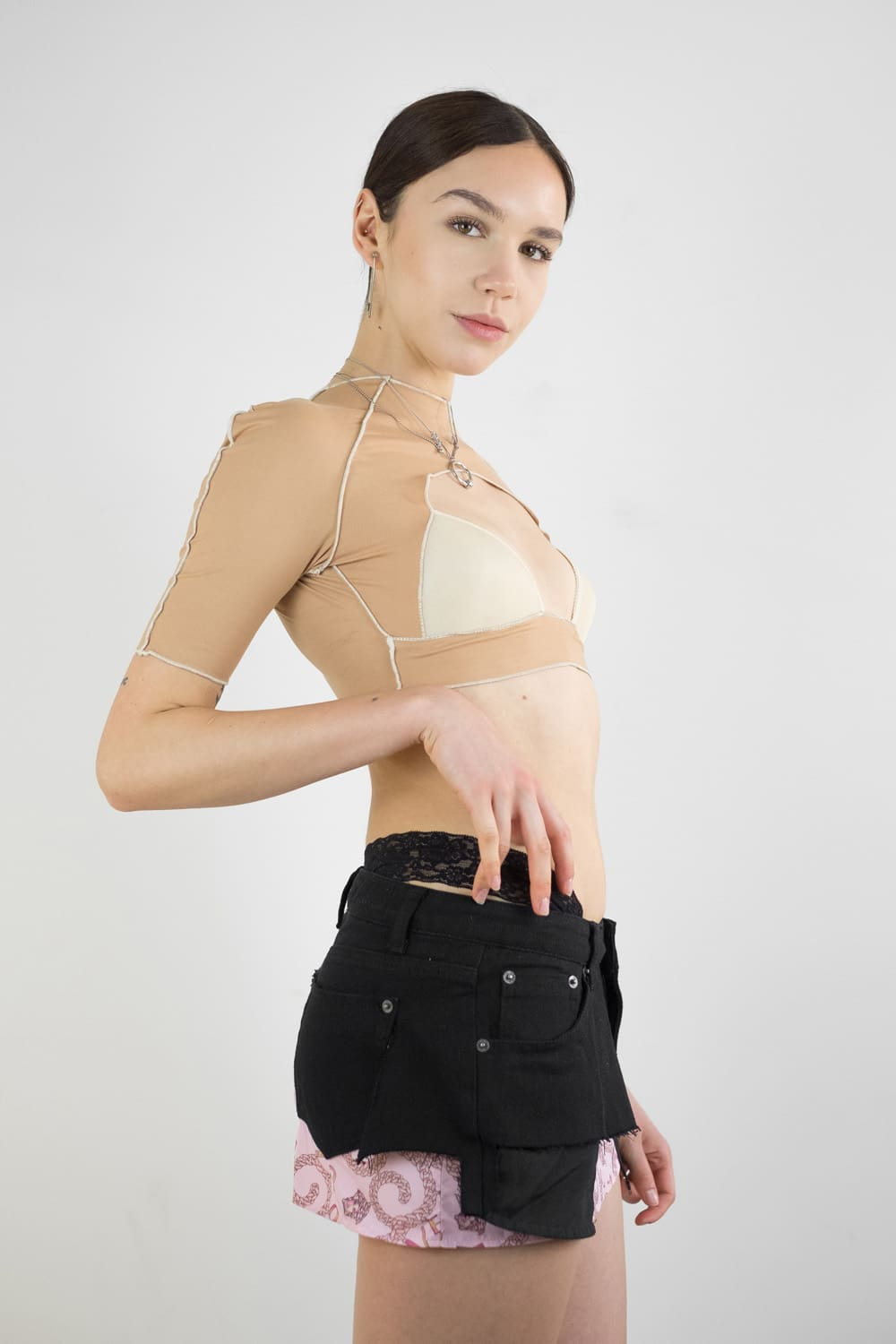 Upcycled Bra Top 3