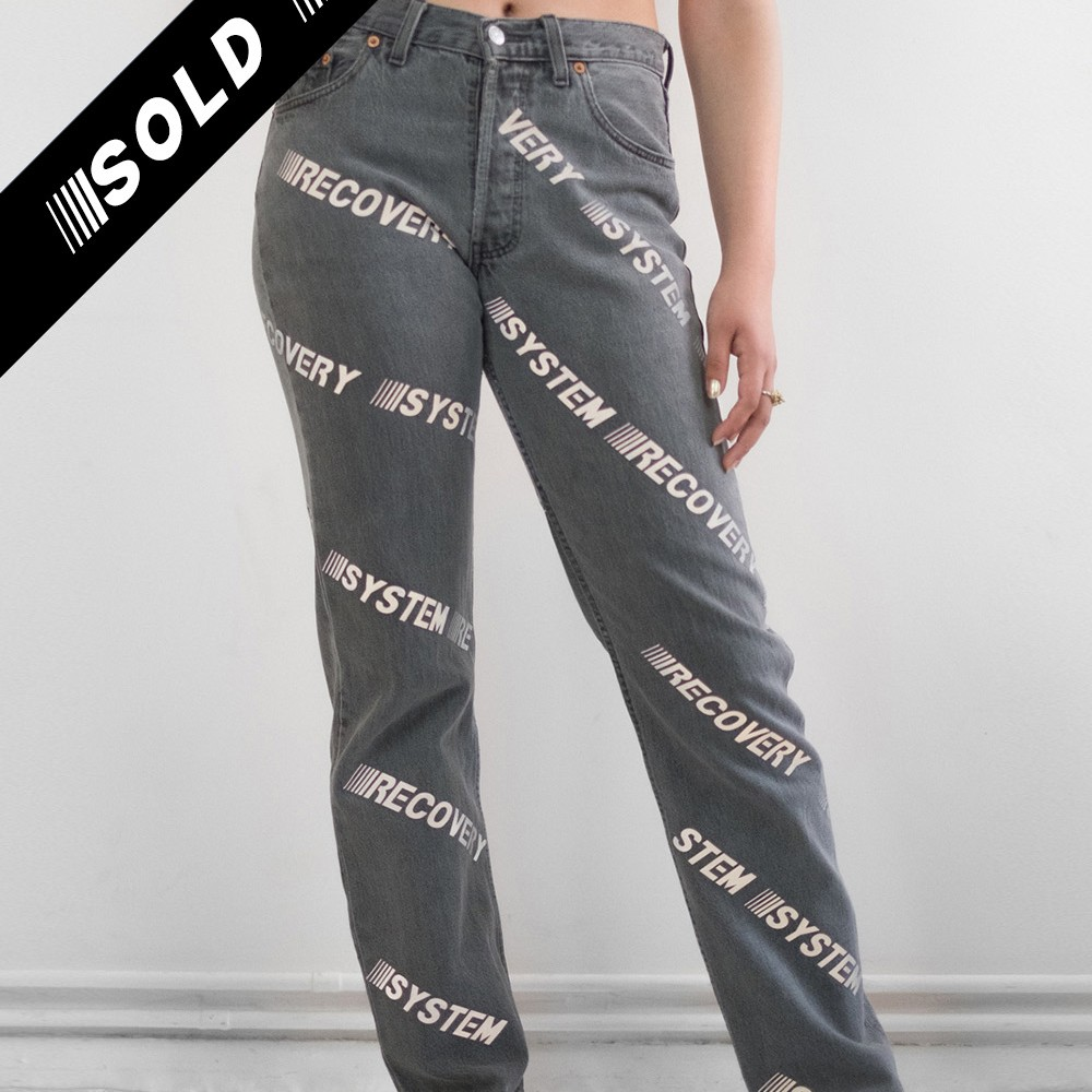 System Recovery Jeans 1