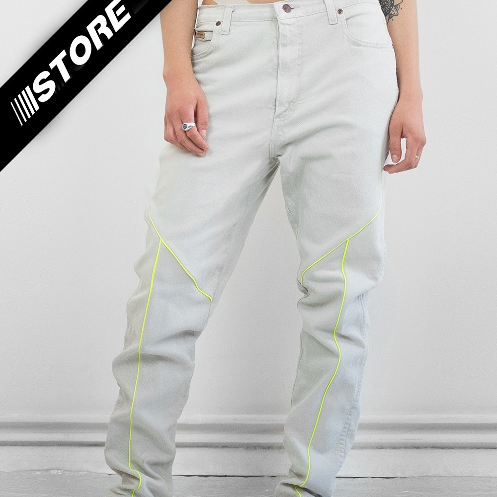 Reflective Neon Jeans 4