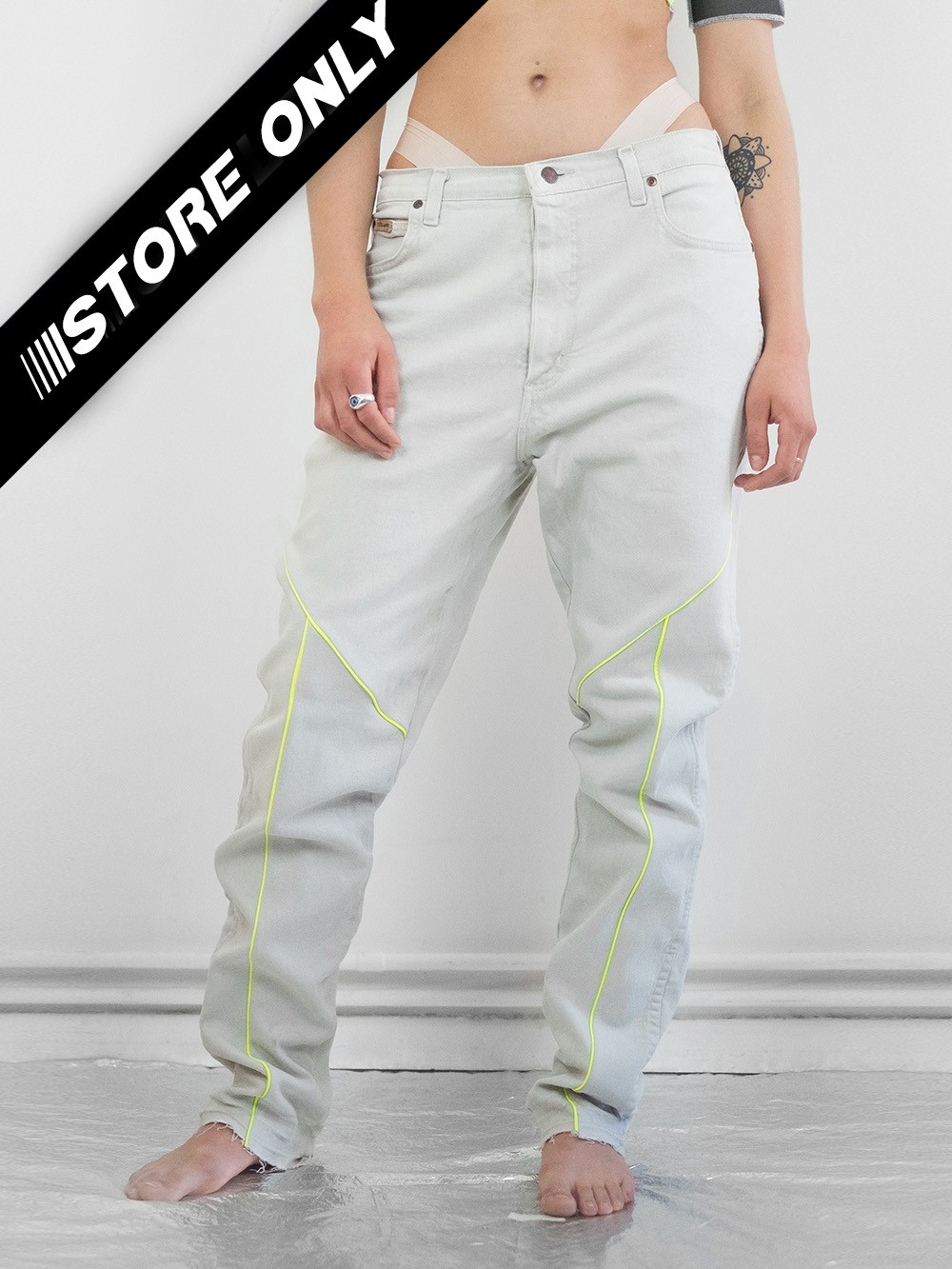 Reflective Neon Jeans 229
