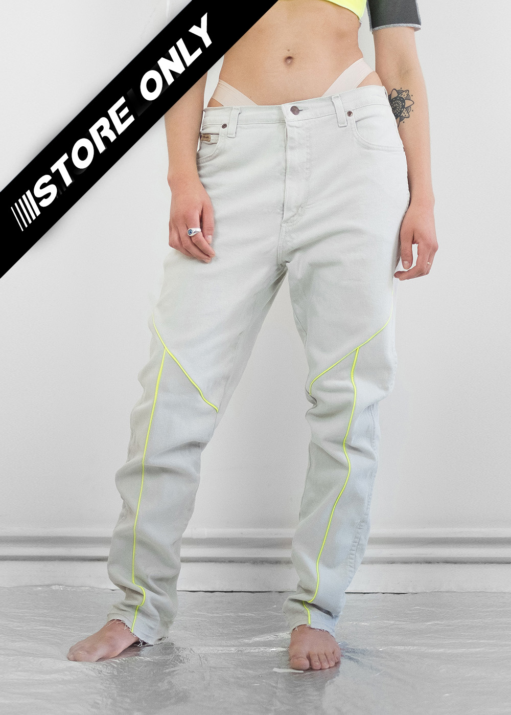 Reflective Neon Jeans 268
