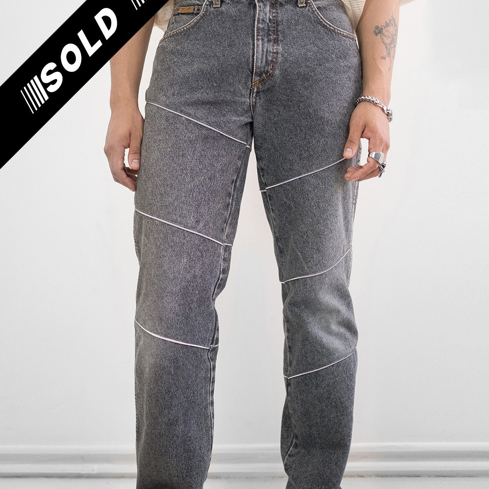 Reworked Reflective Jeans 3