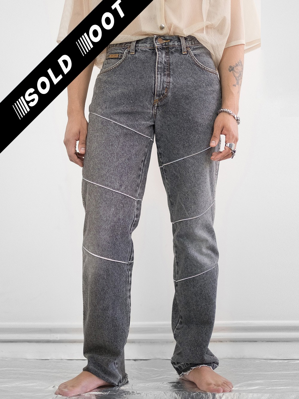 Reworked Reflective Jeans 224