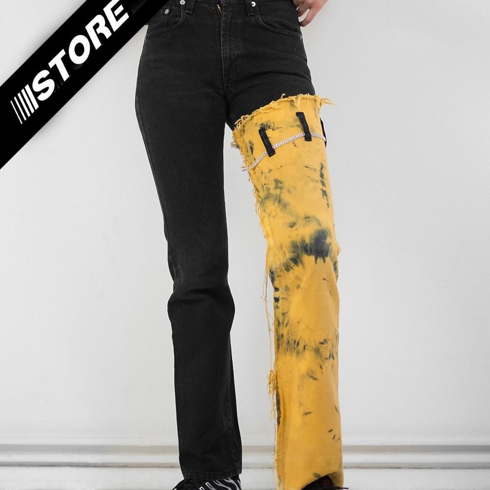 Reworked Tie Dye Jeans 1