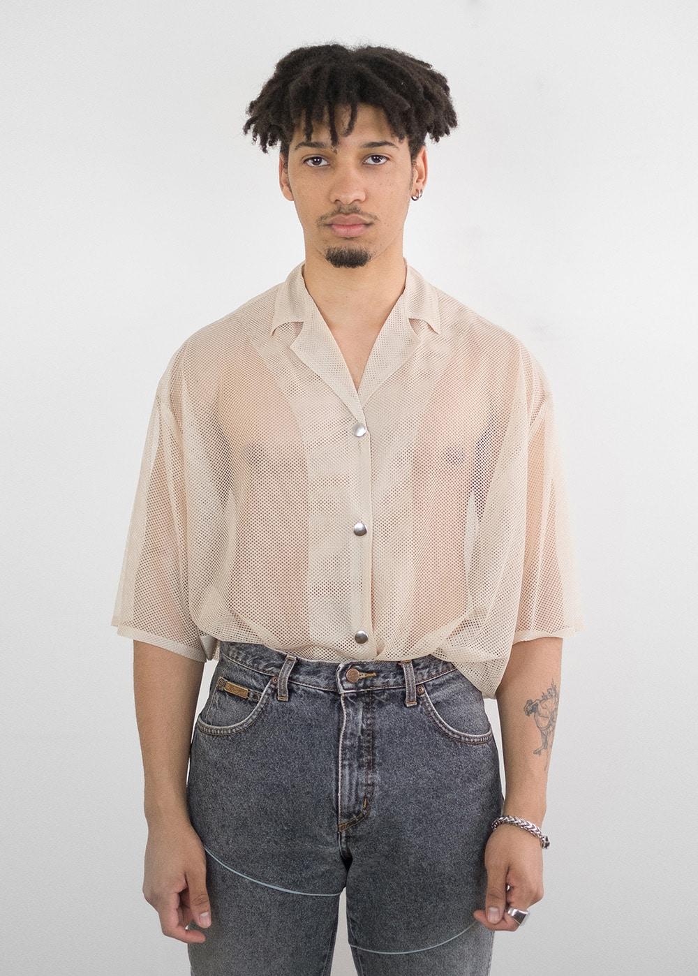 Oversized Mesh Shirt 249