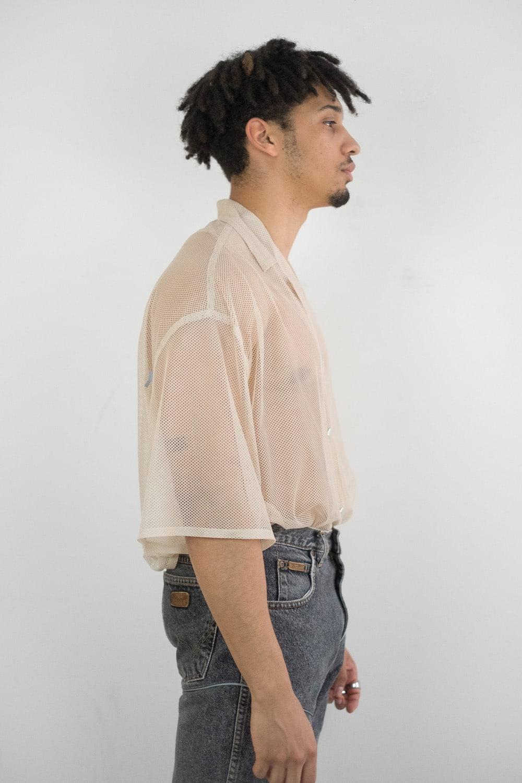Oversized Mesh Shirt 2