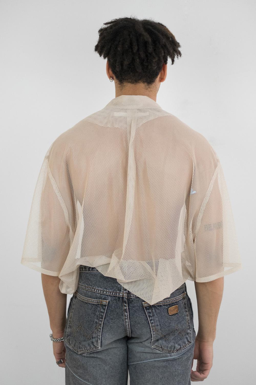 Oversized Mesh Shirt 3