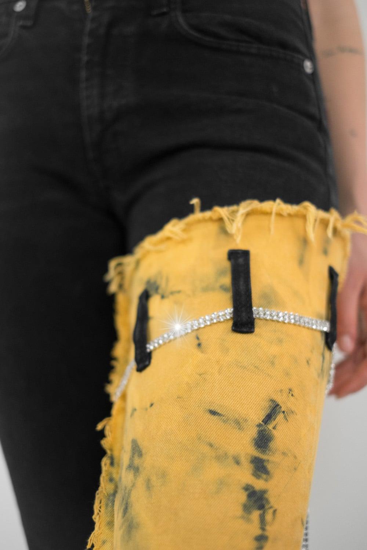 Reworked Tie Dye Jeans 2