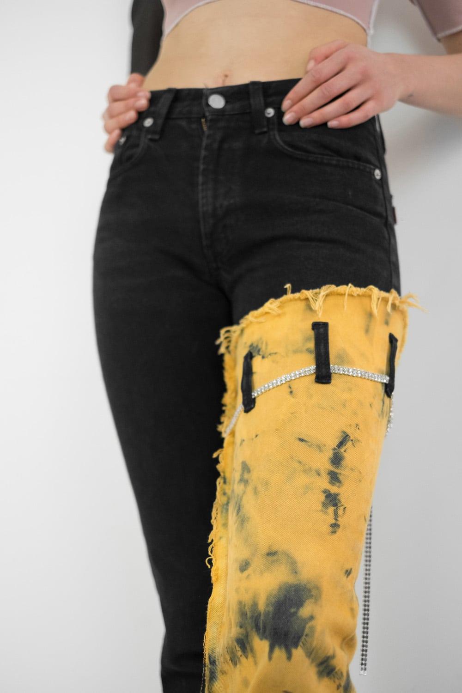 Reworked Tie Dye Jeans 3