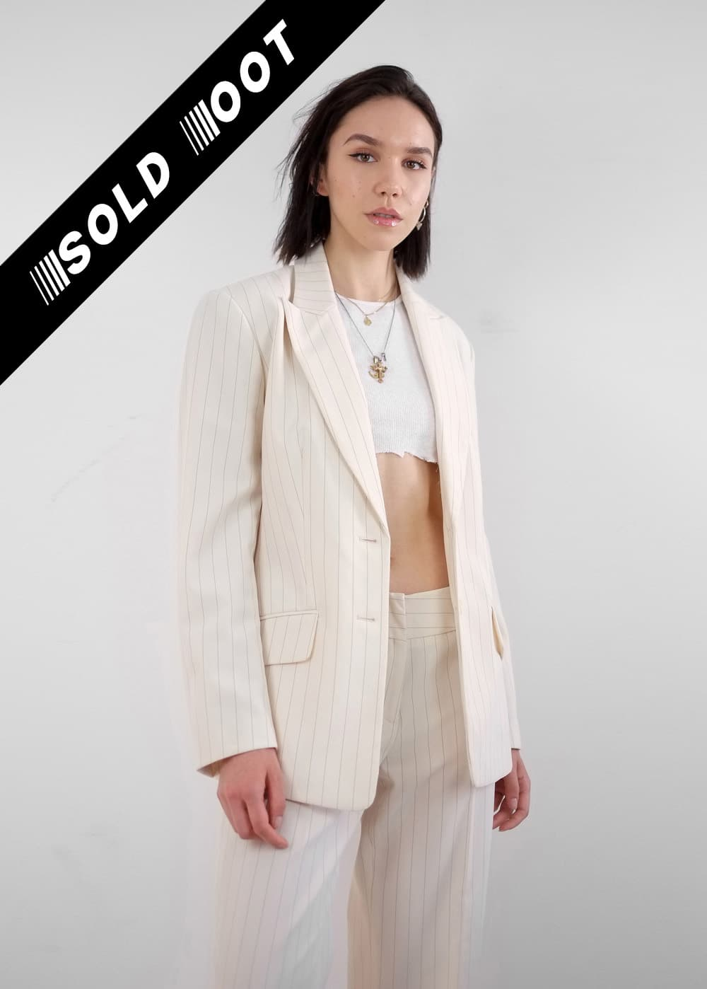Cream Suit Jacket 1