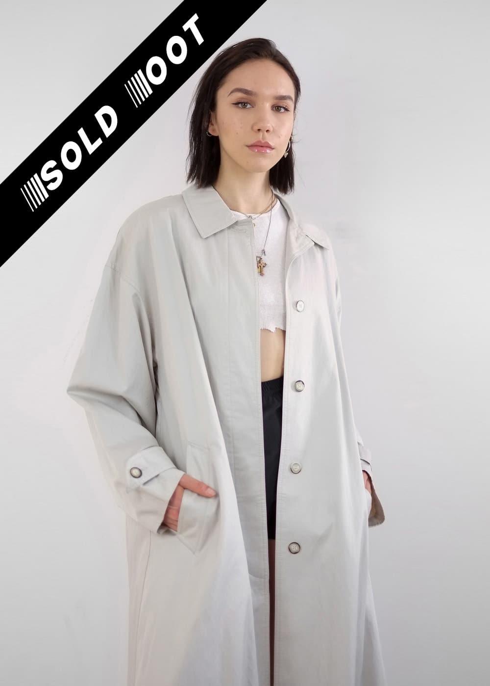 Stone Trench Coat 226