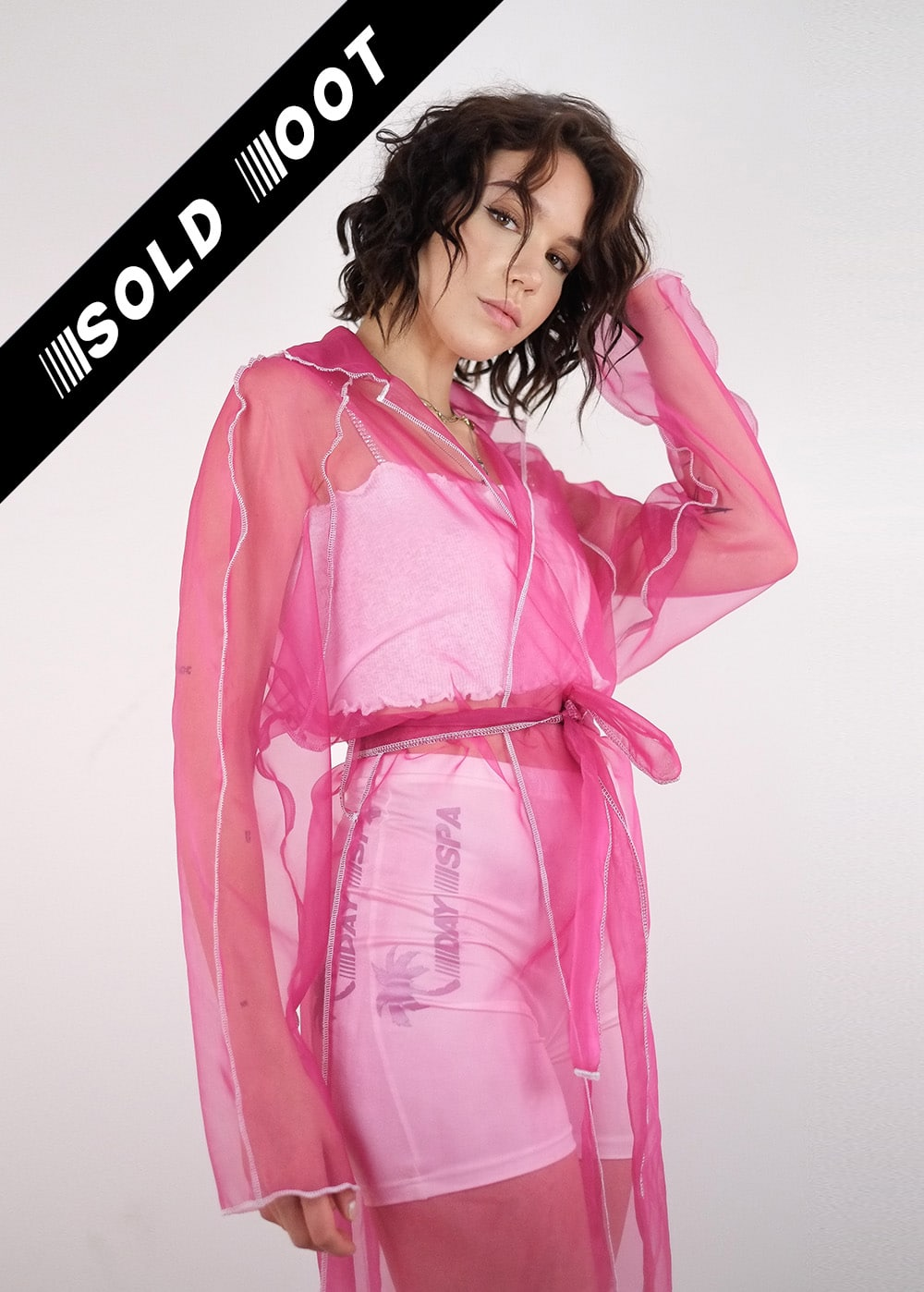 Transparent Rosa Coat 204