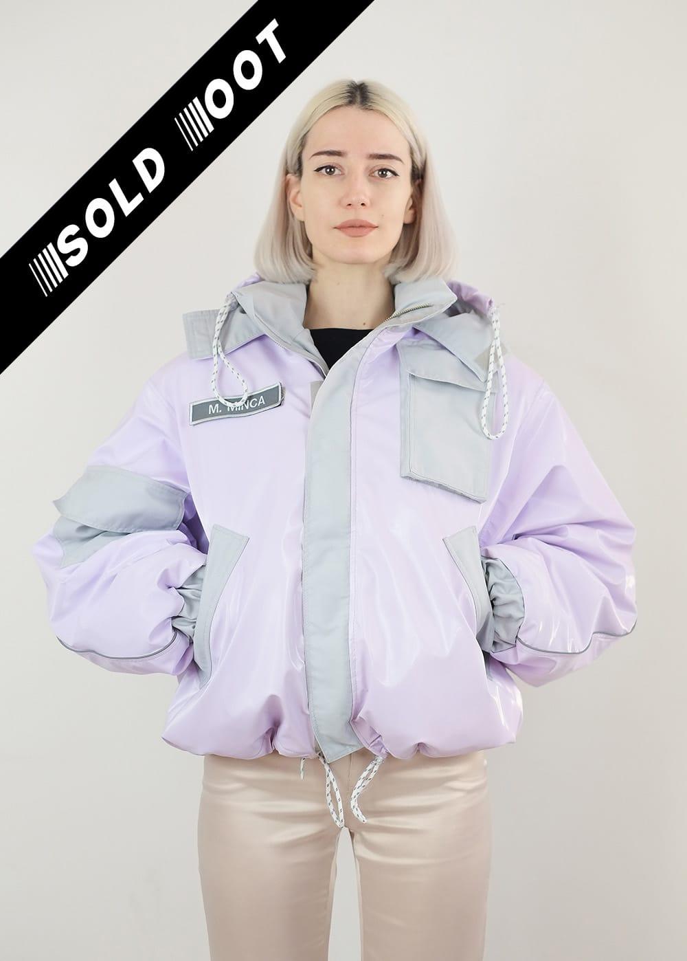 Lilac Vinyl Jacket 297