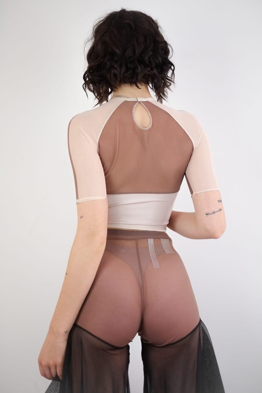 Mesh Top in Nudes 4