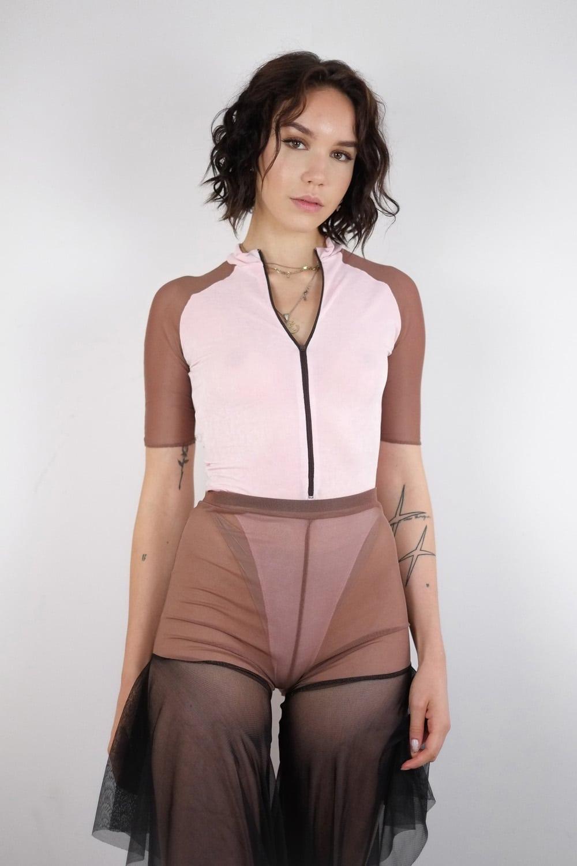 Pink Scrapz Bodysuit 2