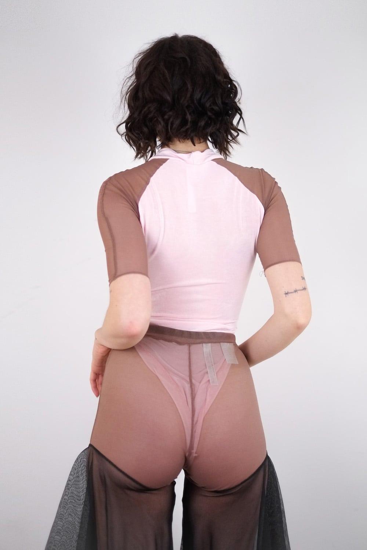 Pink Scrapz Bodysuit 3