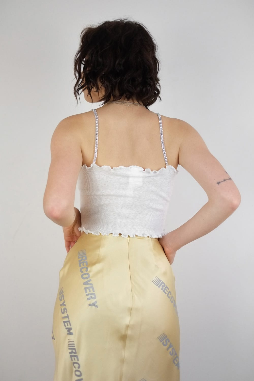 Reflective Silk Skirt 3