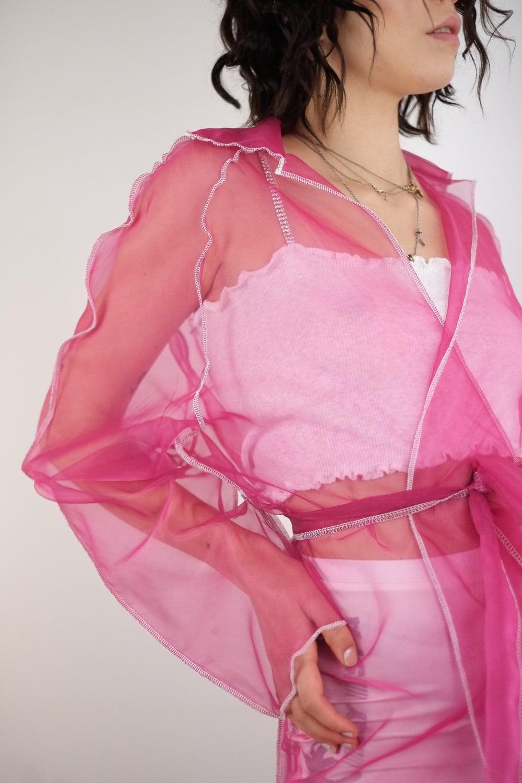 Transparent Rosa Coat 5
