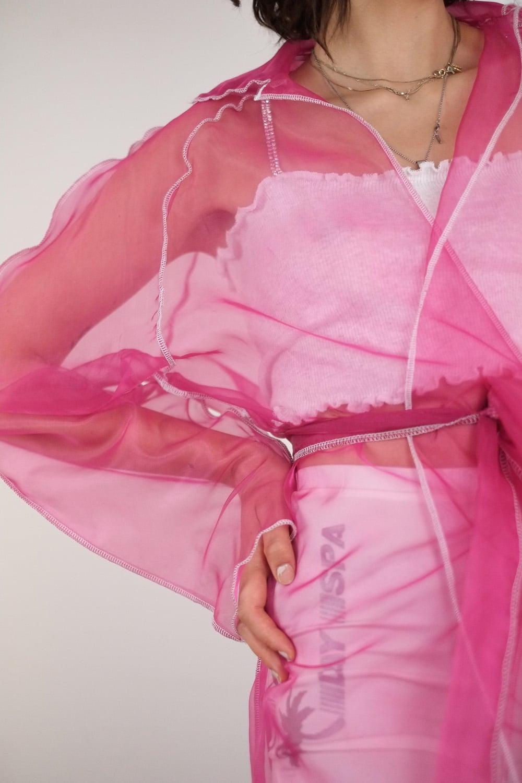 Transparent Rosa Coat 3